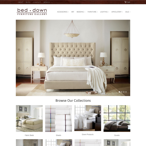 BedDown.com is a furniture gallery in Atlanta, GA that sells beautiful home furnishings.