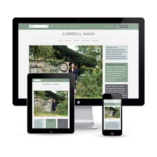 Responsive Web Design for Carroll Nash