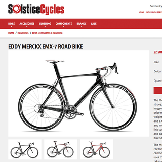 Pixel Creation Ltd - Ecommerce Designer / Setup Expert - Solstice Cycles