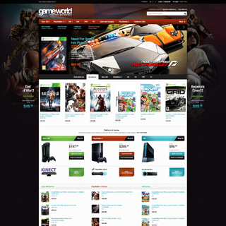 EMThemes - Ecommerce Designer / Developer - GameWorld