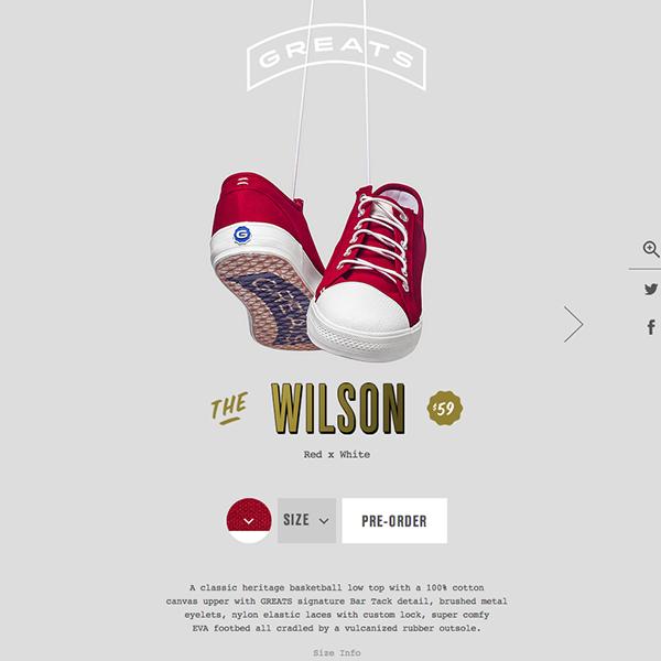 Online-only shoe retailer.