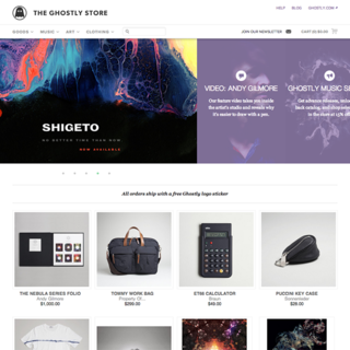 daniel hunninghake - Ecommerce Designer - The Ghostly Store