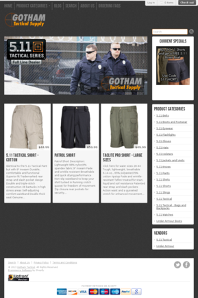 Holsters Website Templates Ecommerce Holsters Templates On Shopify - Shopify website templates