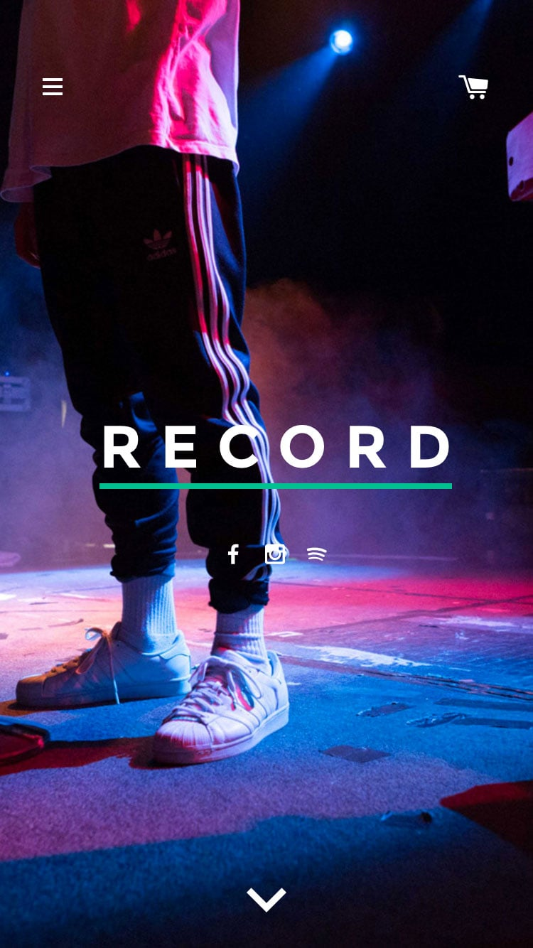 Mobile preview for Record