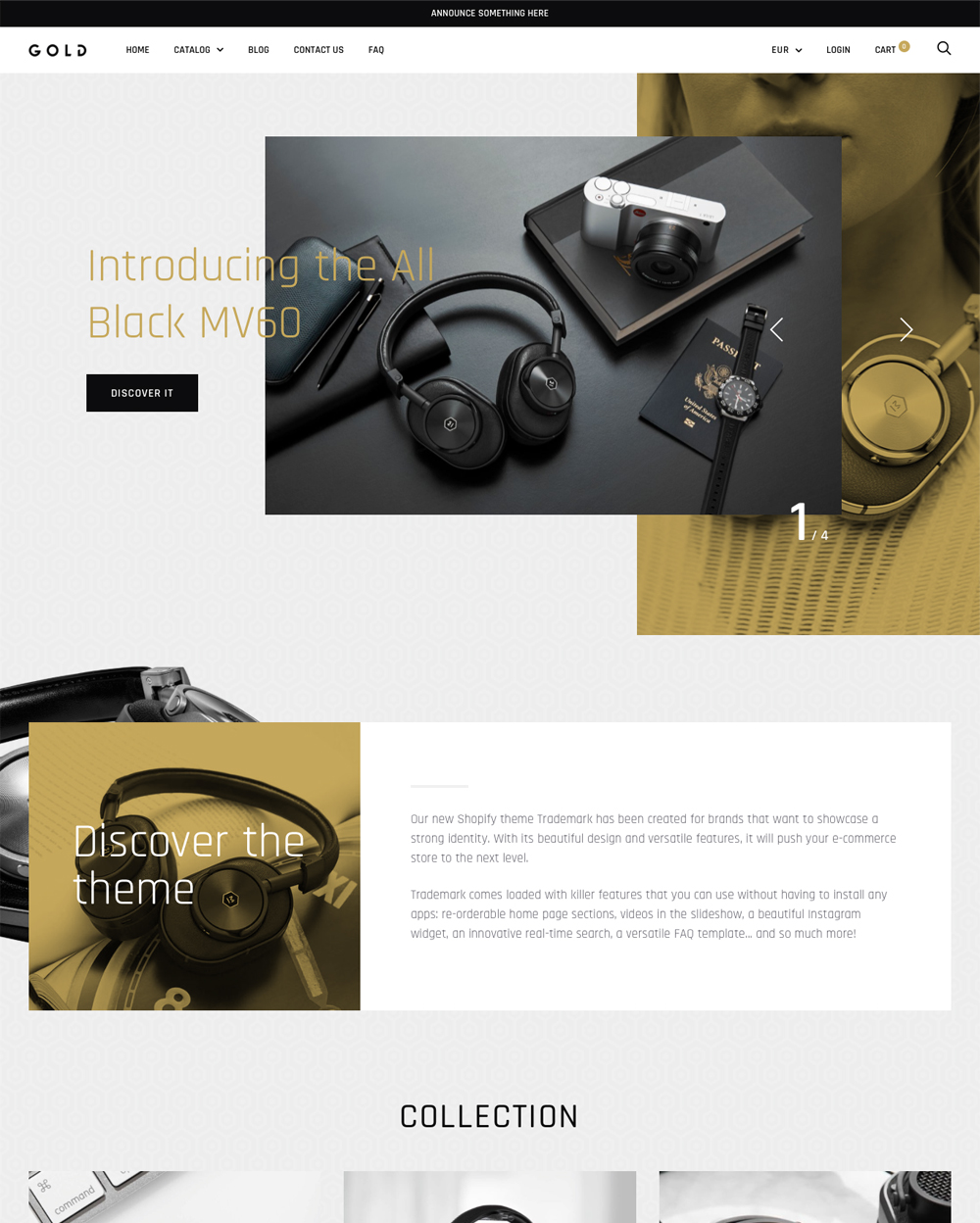 Ecommerce Website Templates Free And Premium Themes For Your - Shopify design templates