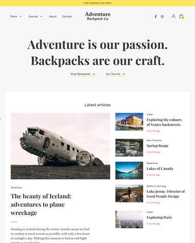 Editorial - Adventure
