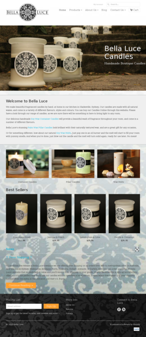 Candles Website Templates Ecommerce Candles Templates On
