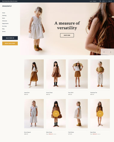 Shopify Clothing Stores Theme