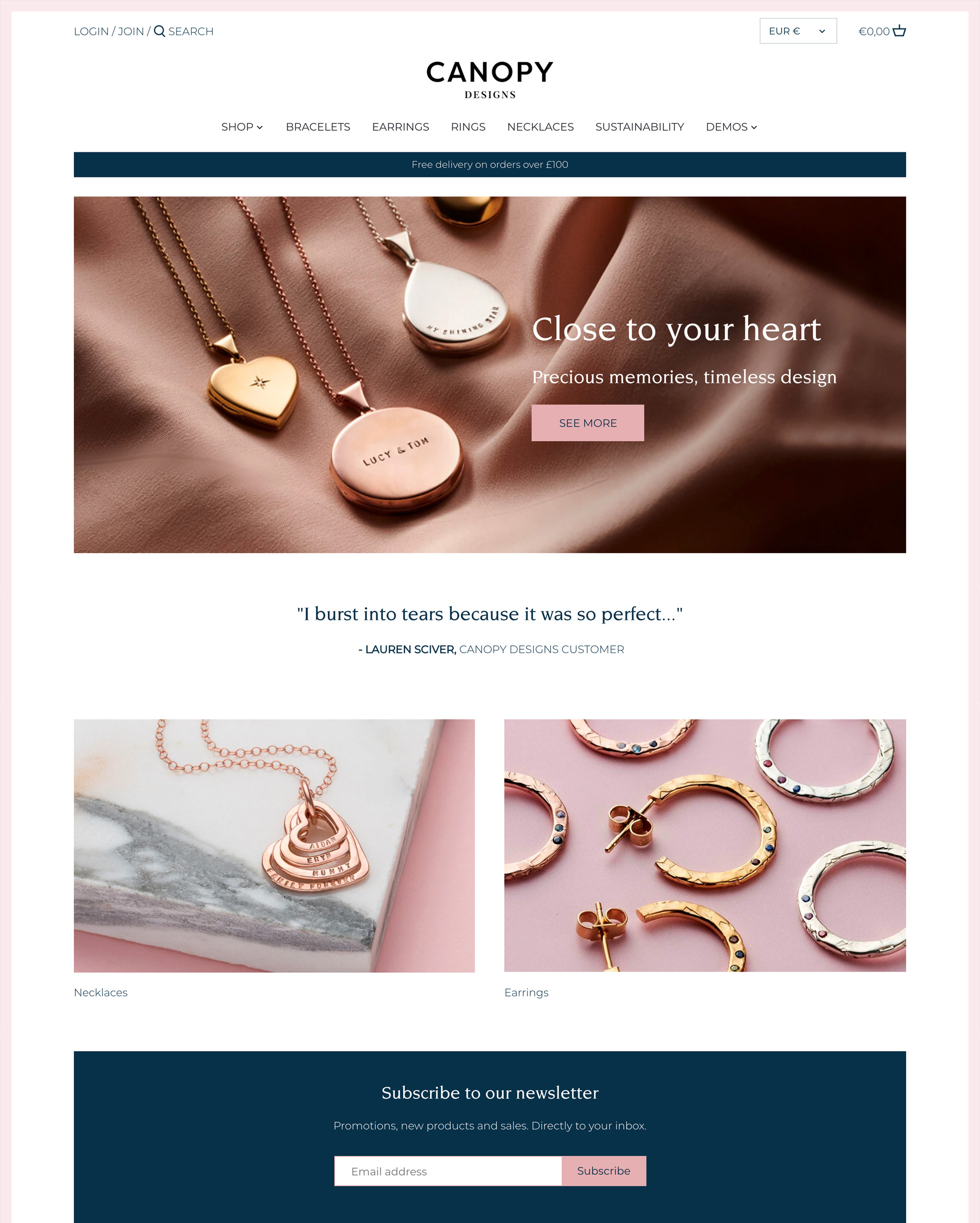 Ecommerce Website Templates - Free and Premium Themes for Your ...