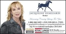 Jacqueline Guagliardi - Royal LePage RCR Realty