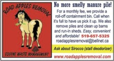ROAD APPLES REMOVAL EQUINE MANURE & WASTE MANAGEMENT