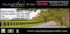 Michael Stuart Webb of REMAX Chay Realty