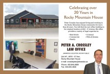 Celebrating over 20 Years in Rocky Mountain House