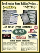 Two Premium Horse Bedding Products...