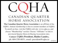 CANADIAN QUARTER HORSE ASSOCIATION