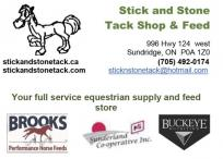 Stick and Stone Tack Shop & Feed