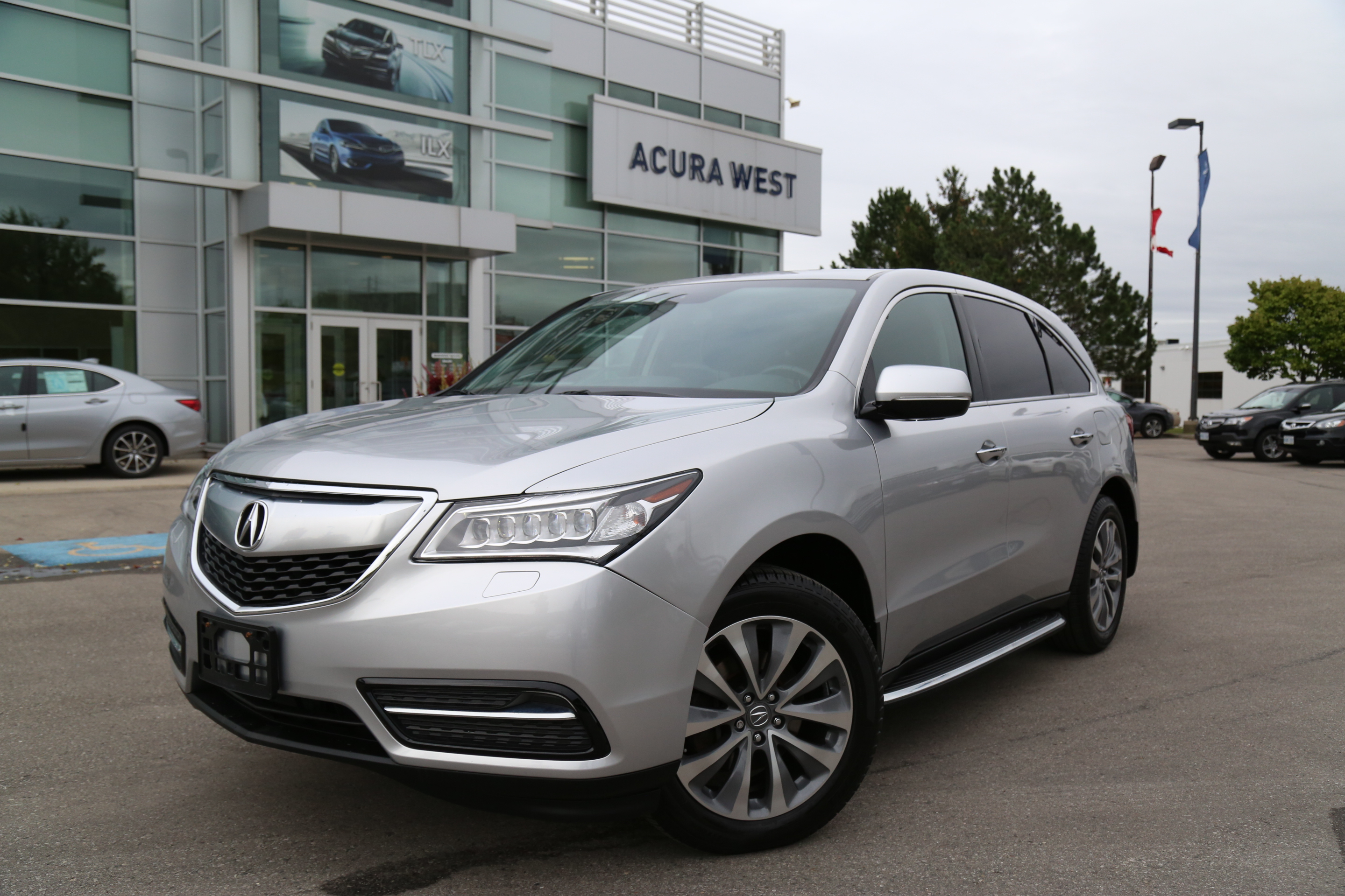 shoplocalnow canada automotive services 2014 acura mdx technology package. Black Bedroom Furniture Sets. Home Design Ideas