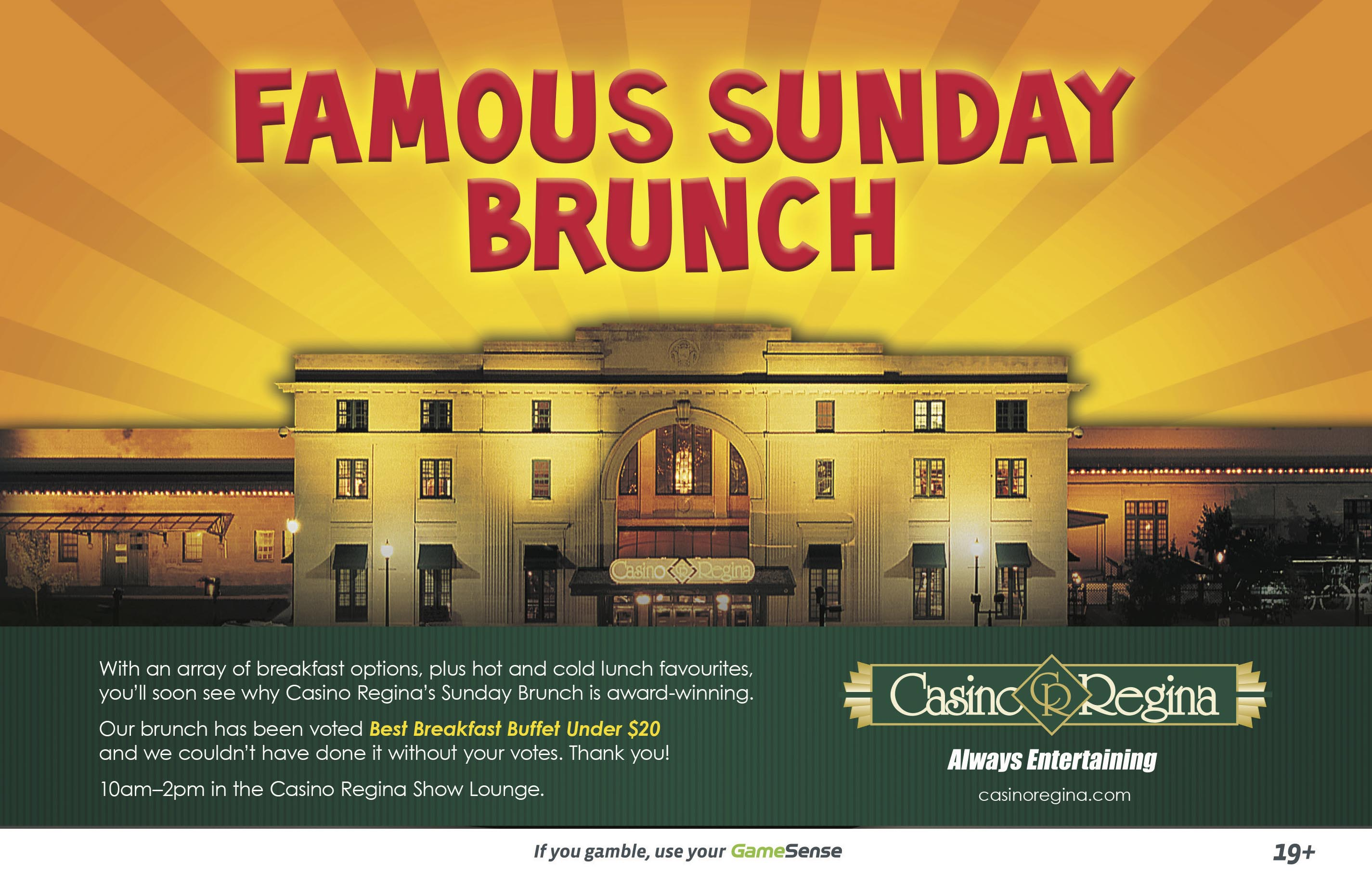 Starlight casino sunday brunch