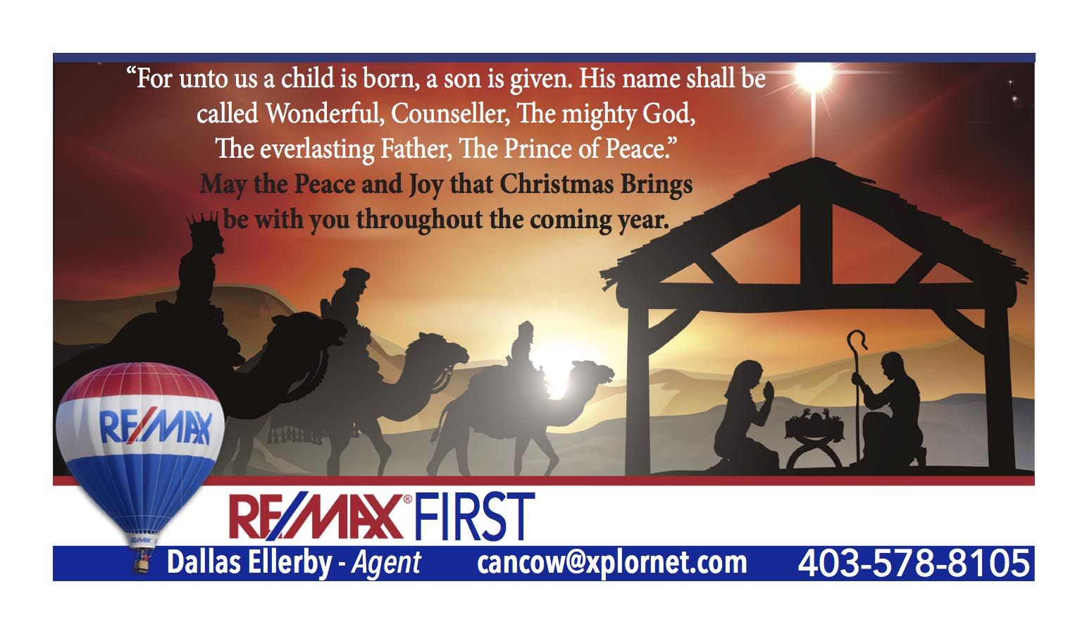 ECA Review : Real Estate : : May the Peace and Joy that Christmas ...