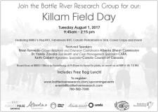 Killam Field Day  Tuesday August 1, 2017
