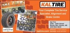 Your Complete Tire Service Specialist, Alignment and Brake Centre