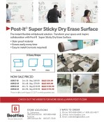 Post-it: Super Sticky Dry Erase Surface