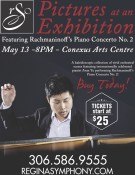 Pictures at an Exhibition Featuring Rachmaninoff's Piano Concerto No. 2