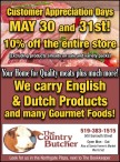 Customer Appreciation Days MAY 30 and 31st! 10% off the entire store