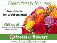 Field fresh for less at Forest of Flowers