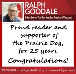 Proud reader and supporter of the Prairie Dog, for 25 years.