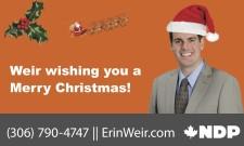 Weir wishing you a Merry Christmas!
