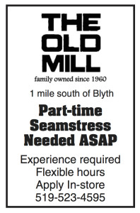 Part-time Seamstress Needed Asap