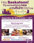 Try something new @ culturedays.ca
