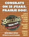 CONGRATS ON 25 YEARS, PRAIRIE DOG!