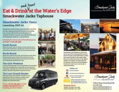 Smackwater Jacks Tours Launching JULY 1st