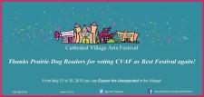 Thanks for voting CVAF as Best Festival again