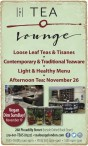 THE TEA Lounge  Loose Leaf Teas & Tisanes