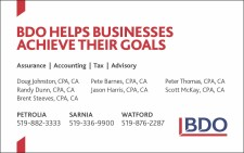 BDO HELPS BUSINESSES ACHIEVE THEIR GOALS