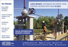 SAVE MONEY. AUTOMATE OR UPDATE YOUR EXISTING VALVING WITH NEW SCADA.