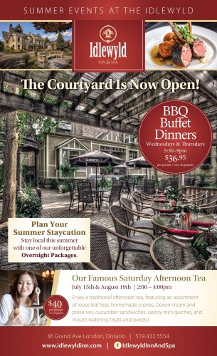 SUMMER EVENTS AT THE IDLEWYLD