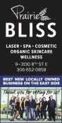 Prairie BLISS BEST NEW LOCALLY OWNED  BUSINESS ON THE EAST SIDE