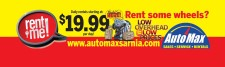 Daily rentals starting at: $19.99 per day!