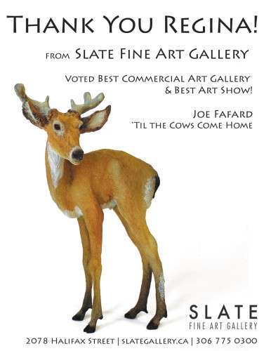 SLATE FINE ART GALLERY  VOTED BEST COMMERCIAL ART GALLERY
