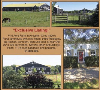 Exclusive Listing!