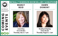 MCNALLY ROBINSON:COMING EVENTS