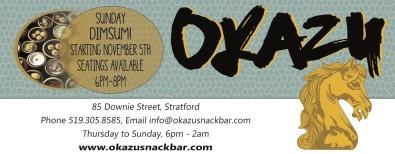 SUNDAY DIMSUM at Okazu Snack Bar