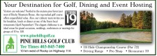 Your Destination for Golf, Dining and Event Hosting