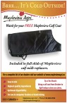 Watch for your FREE Mapleview Calf Coat