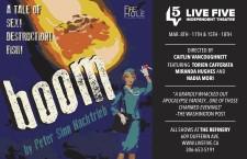 Boom by Peter Sinn Nachtrieb at Live Five