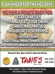 PLAN AHEAD FOR THE HOLIDAYS with Tangs